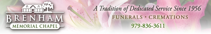 Brenham Memorial Chapel Funeral and Cremation Services
